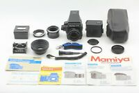 【 Near MINT- in CASE 】 Mamiya M645 Super + Sekor C 80mm f/2.8 N Lens from JAPAN