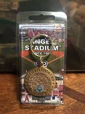 Los Angeles Anaheim Angels Stadium Game Used Infield Dirt Keychain CRT MLB