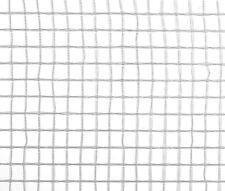 (1,25 € / m²) Gitterfolie weiß transparent  - Rolle 1,5 x 50 m