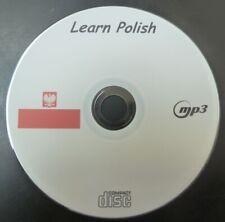 Learn to Speak Polish Poland Basic Language Course Cd Mp3/Pdf