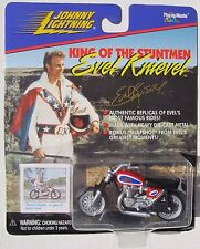JOHNNY LIGHTNING EVEL KNIEVEL CAESAR'S PALACE JUMP MOTORCYCLE