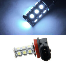 White 7000K 12V RV Camper Headlight H11 5050 18-LED Light Bulbs Backup Reverse