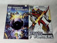 Transformers Dark Cybertron #1 Main Cover IDW Comic 2013 1st Print (2 lot comics