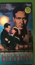 A TIME OF DESTINY VHS 1988 William Hurt Timothy Hutton Rare WWII Historical