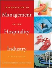 Introduction to Management in the Hospitality Industry by Tom Powers and Clayton