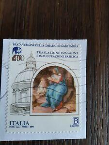 LOTTO FRANCOBOLLO USATO/USATI  ITALIA 2019 BEATA VERGINE DELLA GHIARA