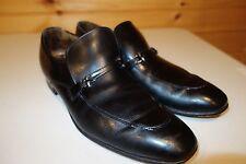 Church's Custom Grade Black Dress Loafers Shoes 90C US 9.5 Made England