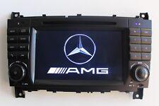 Autoradio Android 7.1 DAB+ Mercedes Benz C CLK Class W203 W209 C200 STEREO GPS