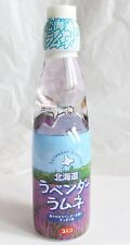 Lavender Flavored Ramune Refreshing Herbal Fragrance Drink from Hokkaido Japan