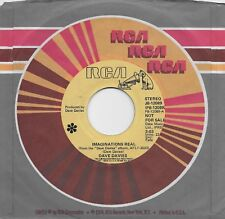DAVE DAVIES  Imaginations Real  rare promo 45 from 1980  THE KINKS