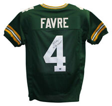 Brett Favre Autographed Green Bay Packers Green XL Jersey 3x MVP 20958
