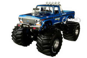 1974 FORD F-250 MONSTER TRUCK BIGFOOT #1 W/ 66-INCH TIRES 1/18 GREENLIGHT 13541