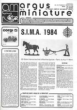 revue automobile: Argus de la Miniature. N°66 Juin 1984