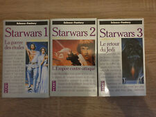 Livres Pocket - Trilogie originale Star Wars - EO - TBE