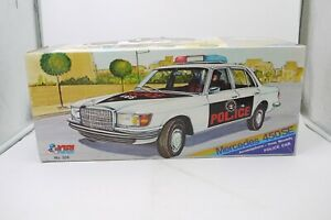 VINTAGE 70'S FRICTION MERCEDES 450 SE POLICE GREEK BASILIADES KIBI BOXED