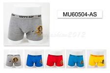 5pc Size 3 2-4 years Comfort Cotton Boys Boxer Briefs Lion Kids Underwear