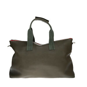 RRP €655 GOLDEN GOOSE DELUXE BRAND Leather Travel Tote Bag Large Grainy Zipped
