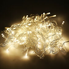 100-600 LED Fairy Lights 10M-100M String Lamp Wedding Party Xmas Tree Decoration