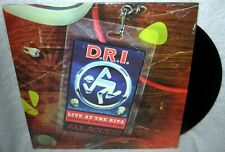 DRI Live At The RItz 1987 LP PUNK ROCK Hardcore THRASH METAL Gang Green LIMITED