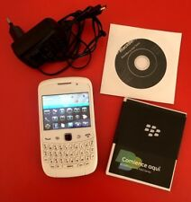 Smartphone Movil  BlackBerry Curve 3G 9300 Blanco desbloqueado Funciona Perfecto