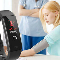 0.96inch IPS Screen Blood Pressure Physiological Monitor Wearable Smartwatch