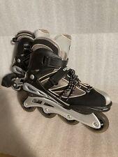 Ozone 500 Men's US size 12 Arcadia Inline Skates Roller blades Gray & Black