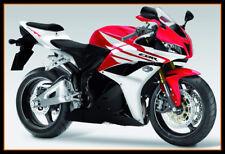 Fairings For Honda CBR600RR F5 2009 2010 2011 2012 Red Black Bodywork Hulls New
