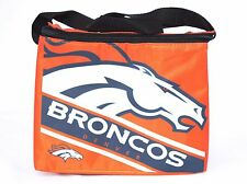 Denver Broncos 6 Pack Cooler Insulated Lunch Sack Bag NFL Football Licensed