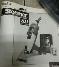 Regina Ultra Steemer S800 Carpet Cleaning System, 8.0 Amp Motor, New in Box