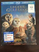 Legend of the Guardians: The Owls of GaHoole (Blu-ray/DVD, 2010, 2-Disc Set)