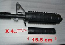 COUVRE RAIL COVER  PICATINNY noir pour garde main  PAINTBALL / AIRSOFT