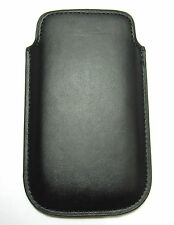 PU Leather Pocket Case Cover Pouch for Apple iPhone 4S iPhone 4G BLACK