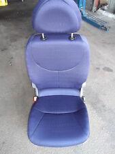 Sitz hinten links Fiat Multipla blau