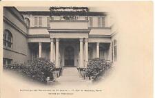 paris rue de monceau ,institution des religieuses de st joseph,entrée pensionnat