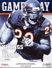 Minnesota Vikings Chicago Bears Program 12/28/2009 MNF