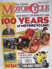 Classic Motor Cycle Magazine, 10 issues 1997 no 04, 05