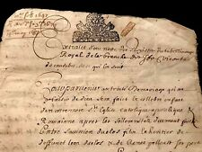 1647 Handwritten Historical Document