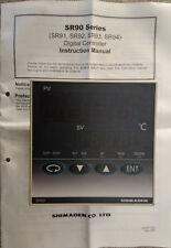SHIMADEN SR93-8Y-N-90-1000 - Temperature Controller / Used