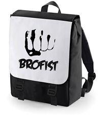 BROFIST BACKPACK (BROTHERHOOD) BAGBASE PEWDIEPIE BACK TO SCHOOL BAG