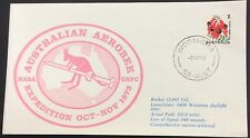 1973 space/rocket cover-aust aerobee expedition cover with woomera cancel