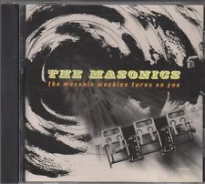 MASONICS Machine Turns You On VINYL JAPAN CD EX 2002 Garage Punk HEAR MILKSHAKES