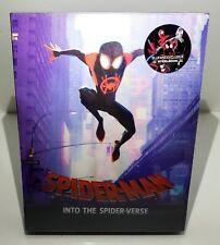 SPIDER-MAN INTO THE SPIDER-VERSE 4K UHD BLU-RAY STEELBOOK [BLUFANS] LENTI #162