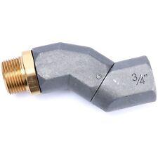 "3/4"" Pipe Thread Fuel Transfer Hose Swivel Adapter - 3/4"" Male x 3/4"" Female US"