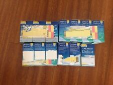 brand new one touch delica lancets 33 gauage sealed 13 boxes w/ 1300 needles