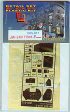 Part S35-017 1/35 Mi-24V Hind E (cockpit and interior) (Trumpeter)