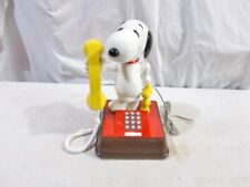 Snoopy and Woodstock Telephone - Rotary