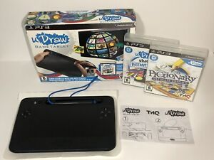 UDraw Game Tablet + Studio Instant Artist Game Bundle PS3 And Pictionary.