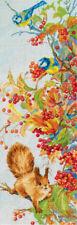 Cross Stitch Kit PANNA PS-1905 - Colourful Autumn