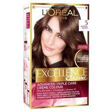 L'OREAL PARIS EXCELLENCE CREME  5 NATURAL BROWN HAIR COLOUR