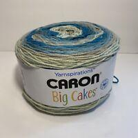 Caron Big Cakes in Blue Macaron #26009 - NEW YARN